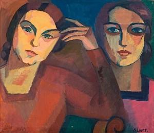 Portraits De Ma Femme by André LHOTE