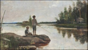 Metande Pojkar by Amelie LUNDAHL