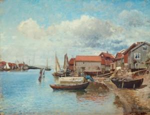 Fiskebäckskil by Alfred WAHLBERG