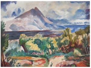 Landskap by Asgrimur JONSSON
