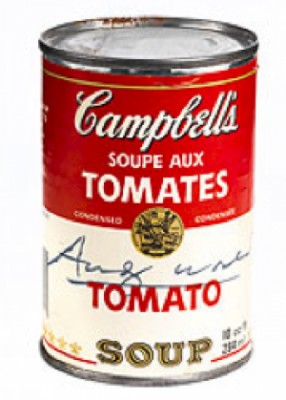 Soupcan by Andy WARHOL