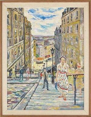 Rue Becerell by Karl DAHLQVIST