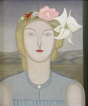Kvinna Med Blomster by Lambert WERNER