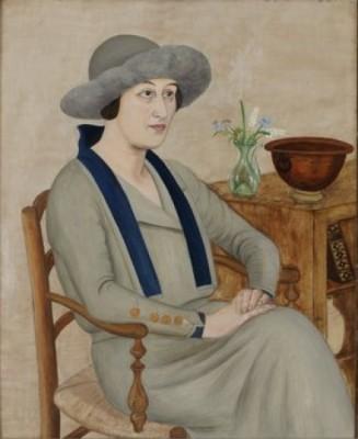 Porträtt Av Mme G.o. (gertrud Rydbeck-olson by Hilding LINNQVIST