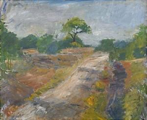 Landskap Med Träd - Sydkoster by Inge SCHIÖLER