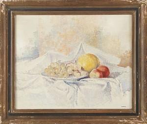 Stilleben Med Frukter by Gösta NORDBLAD