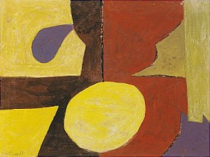 Composition Abstraite 1955 by Serge POLIAKOFF