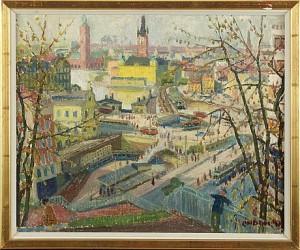 Slussen - Stockholm by Kurt LINDON