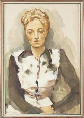 Porträtt Av Madeleine