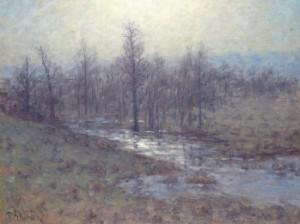 Skogslandskap Med Vattendrag by Per EKSTRÖM
