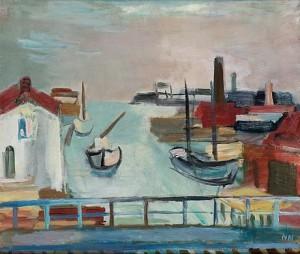 I Hamnen by Nils NILSSON
