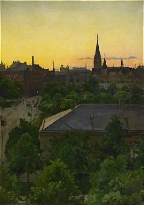 Utsikt över Malmö by Bruno HOPPE