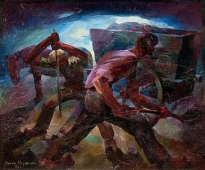 Miners by Aarne NOPSANEN