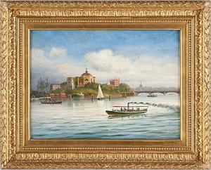 Utsikt Mot Skeppsholmen by Per Wilhelm CEDERGREN