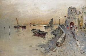 Venezia by Wilhelm Von GEGERFELT