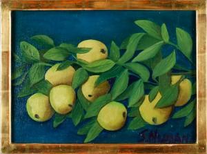 Fruktstilleben by Svea NYMAN