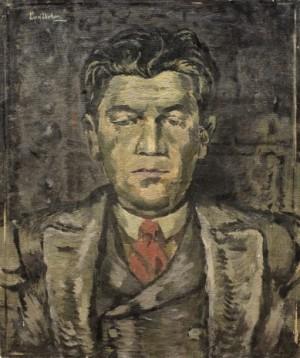 Mansporträtt by Sixten 'Sl' LUNDBOHM