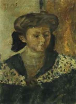 Femme En Buste by Pierre BONNARD