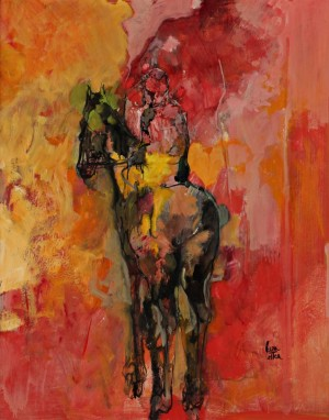 Le Jockey by Philippe CARA COSTEA