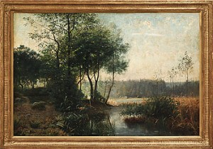 Skogslandskap by Julia STRÖMBERG