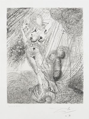 Mythologie, Six Prints From The Suite Of 16, Drypoint Etching And Heliogravure by Salvador DALI