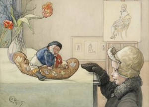 Den Lustiga Gubben by Carl LARSSON