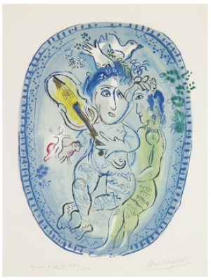 Le Jeu by Marc CHAGALL
