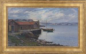 Fiskebodar I Bohuslän by Leonard WIEDH