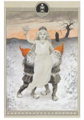 Det Nya året Bärs Av Julens Tomtar by Jenny NYSTRÖM