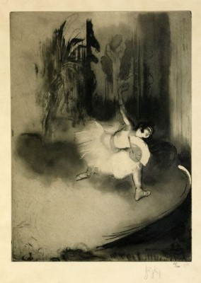 Petite Ballerine by Louis Auguste Mathieu LEGRAND