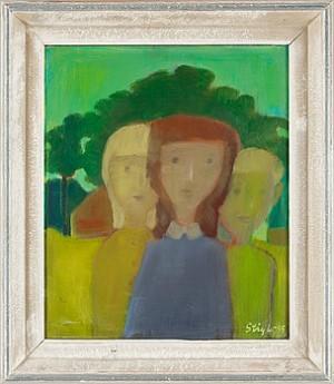 Tre Figurer by Stig LINDBERG