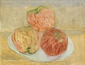 äpplen På Fat by Ragnar SANDBERG