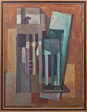 Kubistisk Komposition by Leo REIS