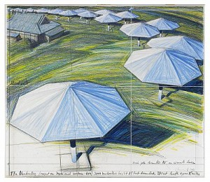 The Umbrellas - Project Forjapan And Western Usa by Christo JAVACHEFF