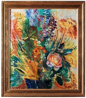 Ett Fång Blommor by Isaac GRÜNEWALD