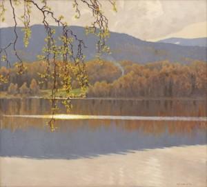 Solglitter - Motiv Från Racken by Gustaf FJÆSTAD