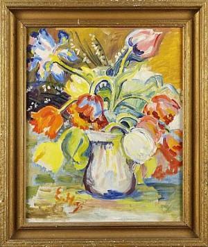 Blomsterstileben by Ester HENNING