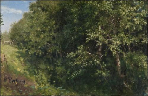 A Lush Landscape by Ilya Efimovich REPIN