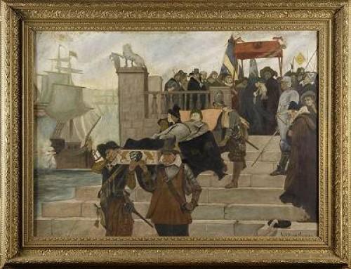 Gustav Ii Adolfs Likfärd by Hilding NYMAN