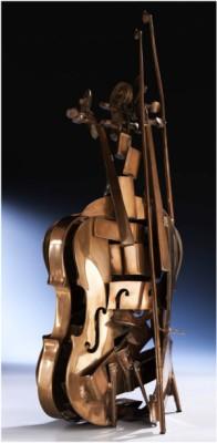 Violino Scomposto by Fernandez ARMAN