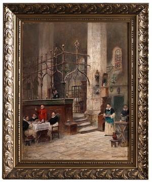 Middag För Kardinalen by Frans Wilhelm ODELMARK