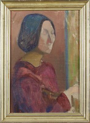 Skådespelerska I München by Carl PALME