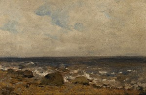 Rocky Shore by Isaac Illich LEVITAN