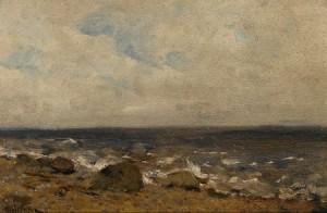 Rocky Shore by Isaac Illich LEVITAN