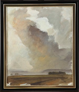 Kustlandskap by Tord LAGER