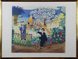 Vår I Provence 1981 by Lennart JIRLOW
