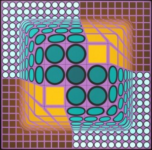 Maniok by Victor VASARELY