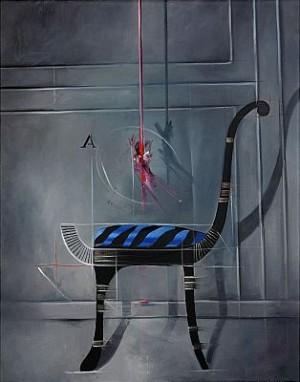 Egyptiskt Inspirerad Stol by Bert Johnny NILSSON