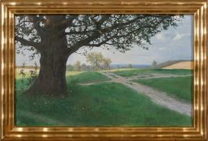 Landskapsmotiv by Walter Günther J. WITTING
