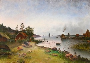 View From The Archipelago by Carl HALLSTRÖM